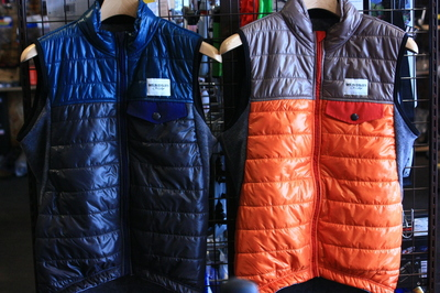 CAFE DU CYCLISTE Gilet Albertine Windproof 福山 ロードアパレル