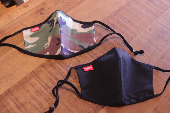 CHROME(クローム)MASK PACK 洗える再利用可能マスク2枚入り